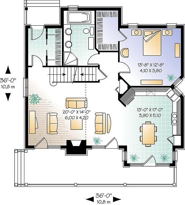 Plano de casa 2 pisos 3 dormitorios 2 ba os y 150 metros for Casa moderna 150 m2