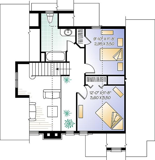 Plano de casa 2 pisos 3 dormitorios 2 ba os y 150 metros for Planos para segundo piso