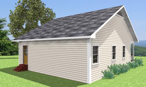Vista 3D Casa