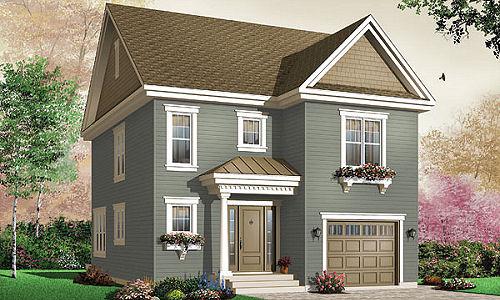 Casa grande de 2 pisos con garaje for Casa con grande garage