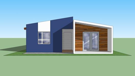 Plano de casa estilo contempor nea de 89 metros cuadrados - Calentar habitacion 20 metros ...