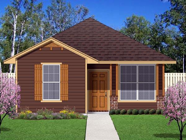 Plano de casa campestre de 2 dormitorios for Casas campestres modernas planos