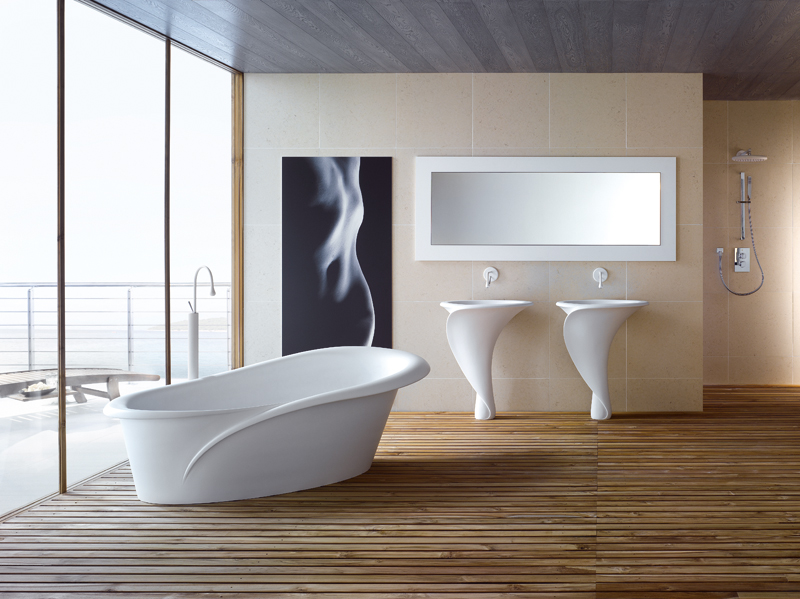 Baño General En Tina:Italian Interior Design Bathrooms