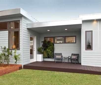 Plano de casa peque a 50 metros cuadrados for Como hacer una fachada de casa moderna