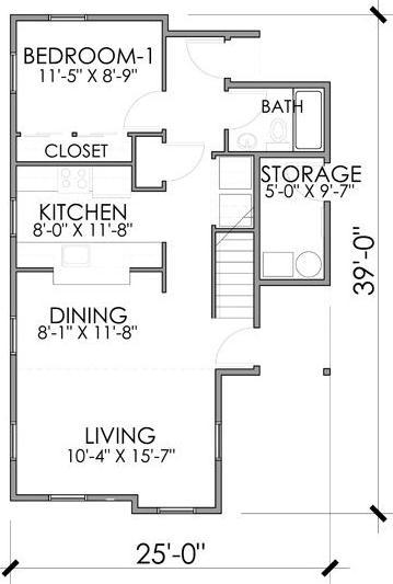 Medidas Baño Casa Habitacion:en el segundo nivel ya se logran apresiar las dos habitaciones
