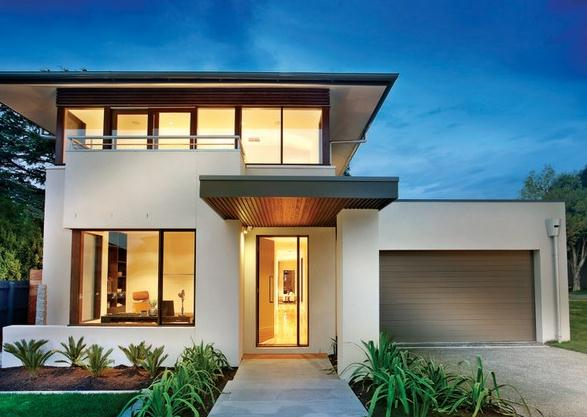 Plano de casa moderna de 332 metros cuadrados for Layout casas modernas