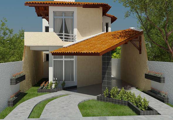 Plano de casa de 2 pisos 3 dormitorios y 167m2 for Como hacer una piscina en un segundo piso