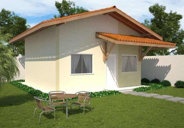 Plano de casa de 45 m2 y 2 dormitorios for Planos de casas 200m2