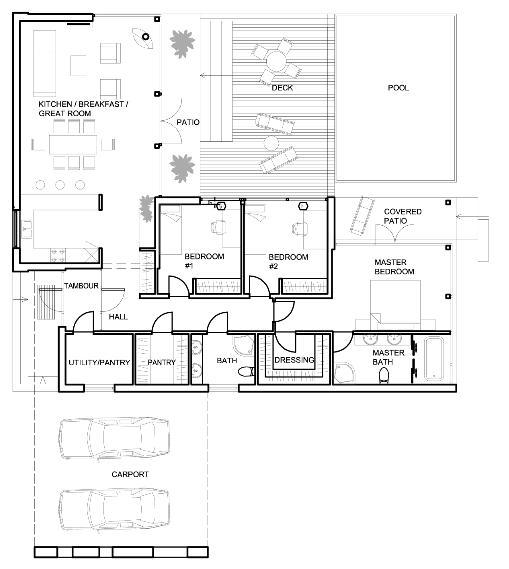 De 3 dormitorios y 40 metros cuadrados planos de casas - Plano piso 40 metros cuadrados ...