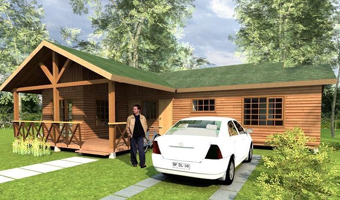 Casa de campo grande y bonita for Planos de casas rurales