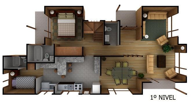 Plano de casa de campo grande y bonita for Planos de casas 200m2