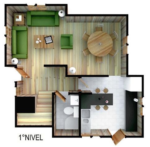 planos de casas modernas segundo piso