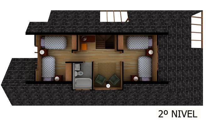 plano de casa segundo nivel