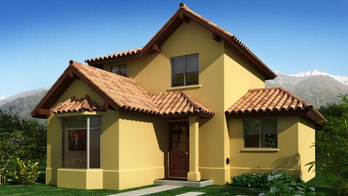 Plano de casa de dos pisos for Fachada casa 2 pisos