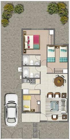 esquema de vivienda