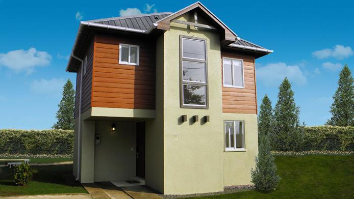 3 Dormitorios, 2 Baños (70 m²).