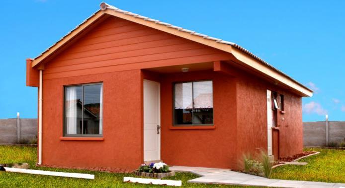 Plano De Casa Con 3 Dormitorios 2 Ba Os Y 58 Mt2