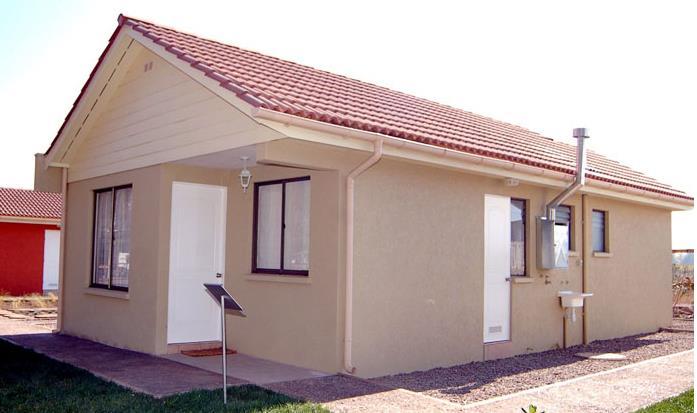 Plano de casa de 3 dormitorios 2 ba os 59 m for Disenos de banos para casas pequenas