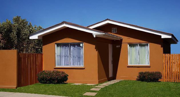 Plano de casa de 1 piso y de 50 metros cuadrados - Fachadas de casas de un piso ...