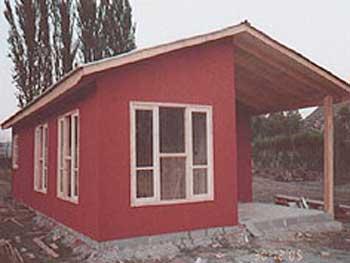 Plano De Casa En Madera De 70 M2 Con Medidas