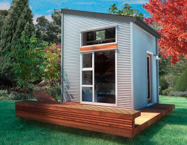 Tiny house minimalist movement - Plano De Mini Casa De Dos Pisos De 3 X 3 Mtrs