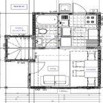 Planos de  práctica casa de dos pisos 46m2