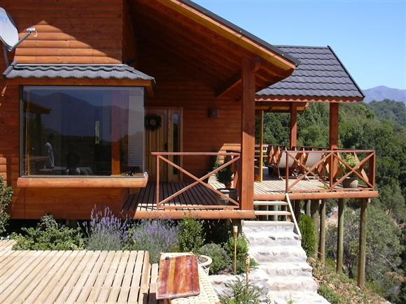 Plano de casa prefabricada de 74 metros cuadrados for Terrazas economicas chile