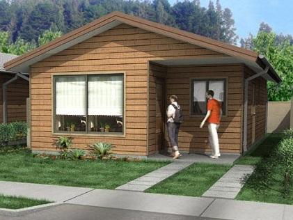 Plano de casa de no m s de 55 m2 - Planos faciles de casas ...