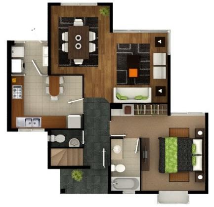 plano casa de 4 dormitorios y 3 ba os de mas de 100 m2