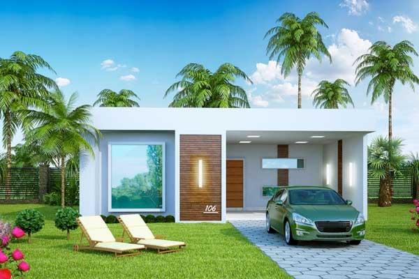 Plano de casa grande con piscina de estilo mediterr neo for Decoracion casa 90m2