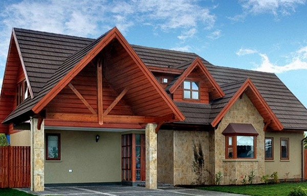 Plano de so ada casa de 200 m2 for Casas de madera de dos pisos