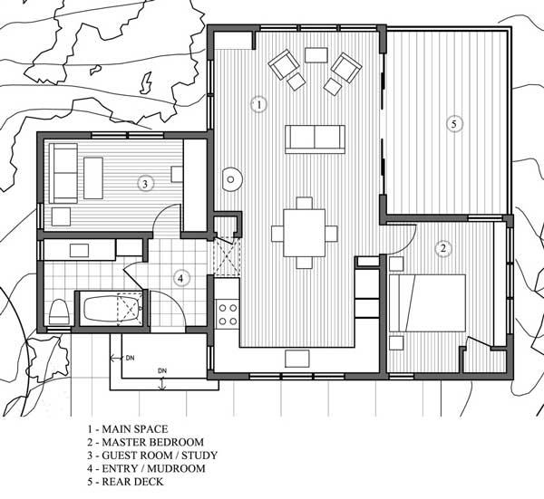 Plano De Casa Tipo Caba A De 78 M2