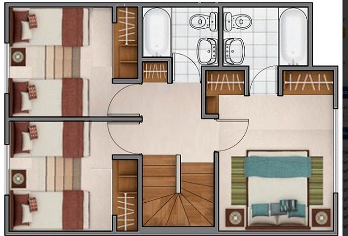 planos de casas 2do piso
