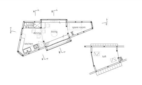 casa angosta plano 015