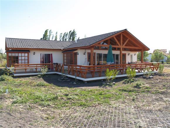 Plano de casa de madera con 3 dormitorios - Fotos de casas en forma de l ...