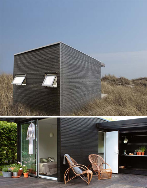 Plano y dise o de casa moderna prefabricada - Casa prefabricada moderna ...