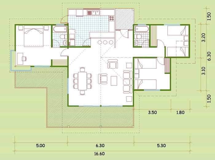Casas de madera con planos fabulous casas de madera with - Planos de casas de madera ...