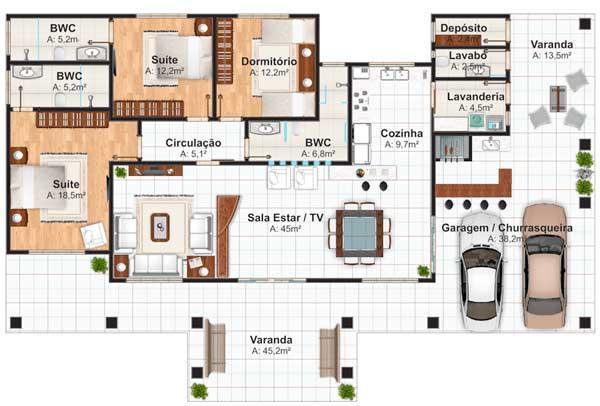 Planos de interiores de casas imagui for Planos de interiores de casas