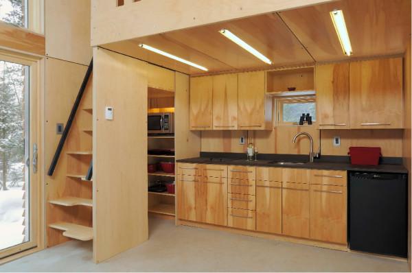 Plano de departamento peque o de 30m2 con 2 dormitorios - Diseno de lofts interiores ...