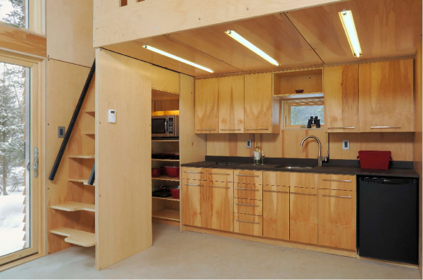 Plano de departamento peque o de 30m2 con 2 dormitorios for Plano departamento 2 dormitorios