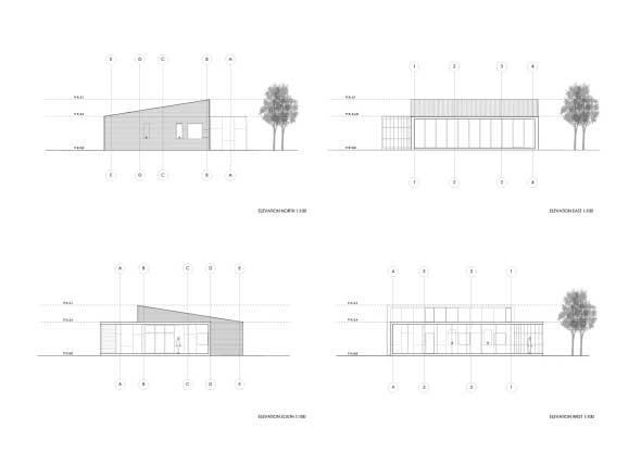 planos de casas y sus cortes
