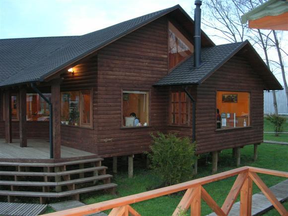 Ver el plano y dise o de una casa o caba a grande de 160m2 - Ver casas de madera ...