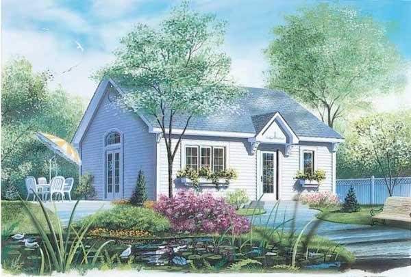 Un llamativo plano de casa con estilo americano - Casas tipo americano ...
