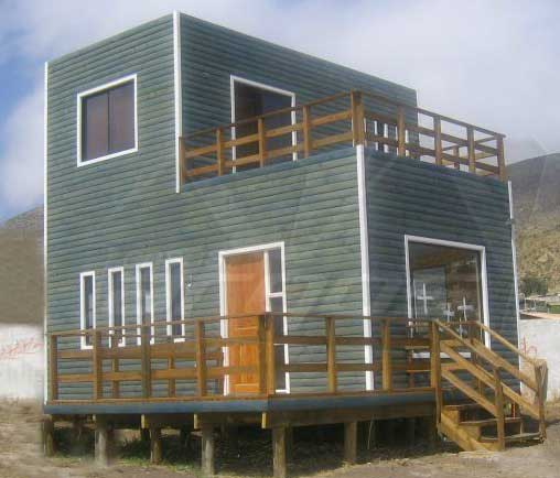 Plano de caba a de 2 pisos 2 dormitorios y 95m2 - Terrazas de casas segundo piso ...