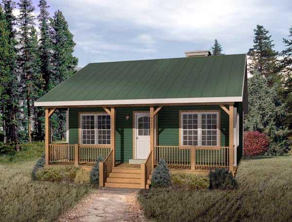fachada-de-casa-cabana-casa-de-campo-de-vacaciones