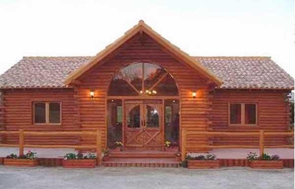 Plano de casa de 68m2 con 3 dormitorios - Casa pequena de madera ...