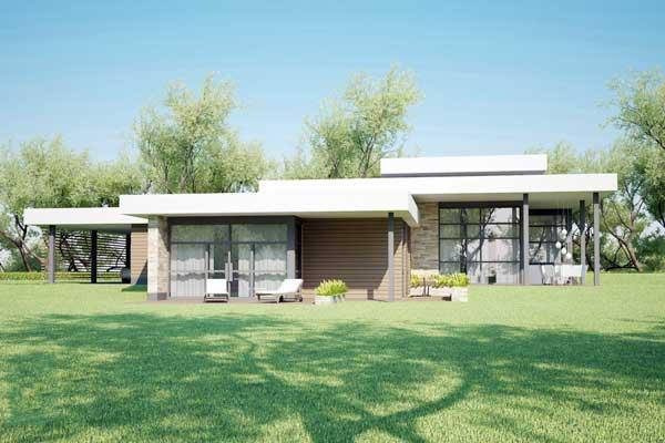 Plano de casa muy grande y lujosa con dise o contempor neo for Diseno de casa de 180 metros cuadrados