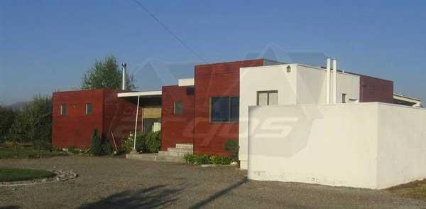 Dise o y plano de casa de moderna de m s de 200m2 for Casa moderna mediterranea