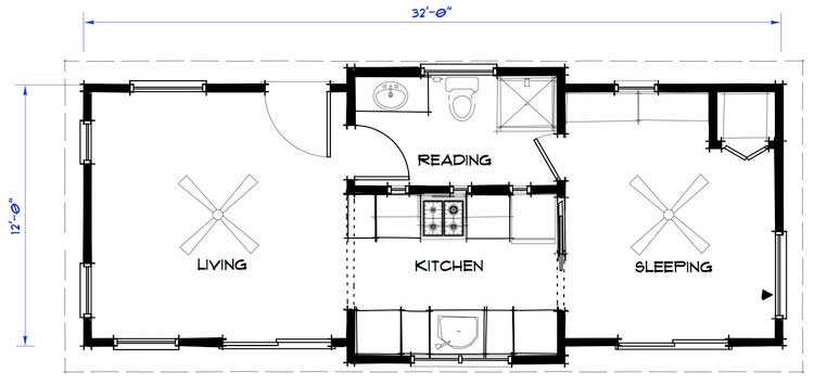 480 Square Foot Apartment together with Home Floor Plans furthermore BackyardHomes also 1400 Square Feet 2 Bedrooms 2 Bathroom Traditional House Plans 2 Garage 30817 likewise Fuqua Manufactured Homes Floor Plans. on 400 square foot house floor plans