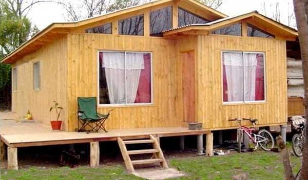 Planos de casa de 73m2 con 4 dormitorios - Casas de madera planos ...